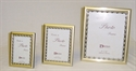 Picture of Frame Brushed Gold with Antique Gold Border