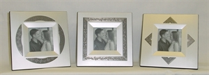 Picture of Frame Wide Border with Pewter color Design